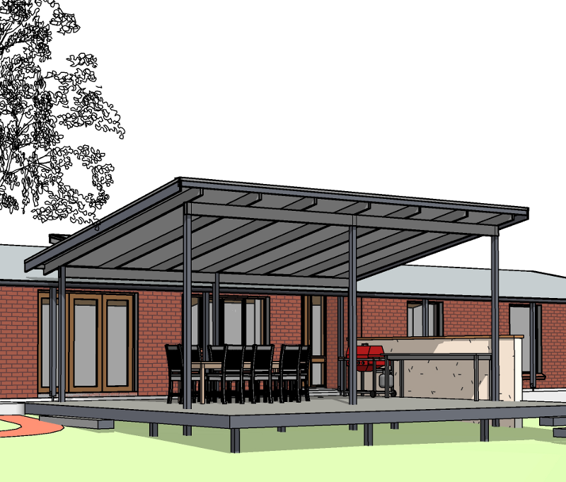 Six Two Design, building design, drafting, Ben Johnson, outdoor living space